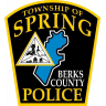 Spring Township Police Department Badge
