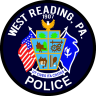 West Reading Police Department Badge