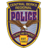 Central Berks Regional Police Department Badge