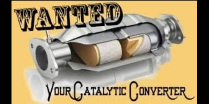 Image for CATALYTIC CONVERTER THEFTS