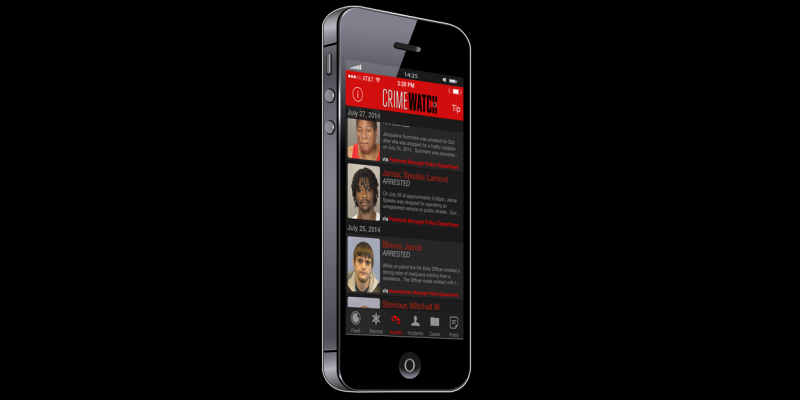 Image for CRIMEWATCH Mobile App Available