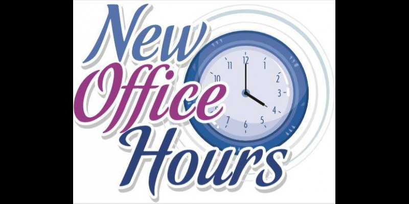 Image for NEW OFFICE HOURS