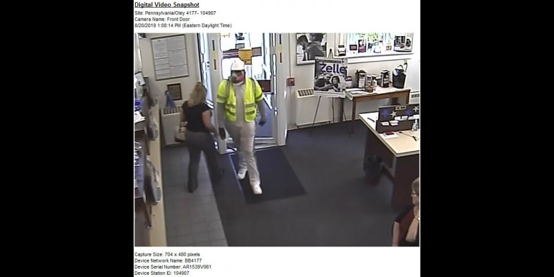 Image for Robbery - BB&T Bank - Oley Township