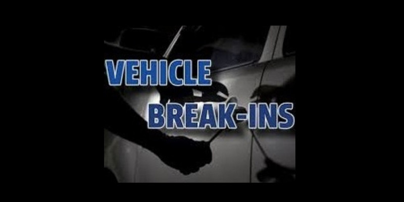 Image for Multiple Reported Vehicle Break-Ins!